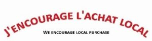 Slogan : J'encourage l'achat local!